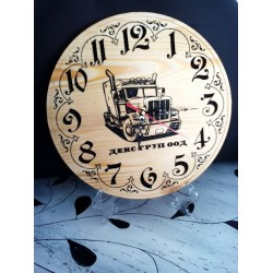 Часовник  гравирана снимка