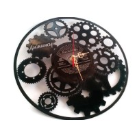 Часовник от грамофонна плоча CLOCK
