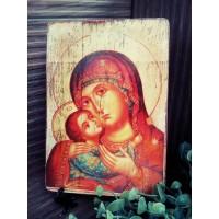 """Ръчно изработена икона """"Богородица """""""