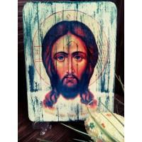 """Ръчно изработена икона """"Исус"""""""