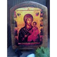 """Ръчно изработена икона """"Богородица"""""""