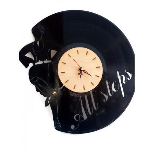 Часовник от грамофонна плоча вар 1