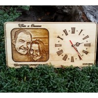 Часовник с 3 D снимка