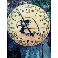 Гравиран часовник с орел