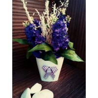 """Кашпа с цветя """"Люляк"""""""