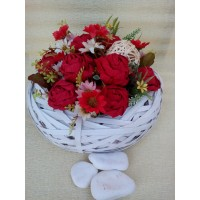 Букет с хартиени цветя