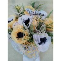 Кашпа с цветя