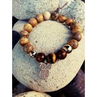 Гривна с естествени камъни БУХАЛ