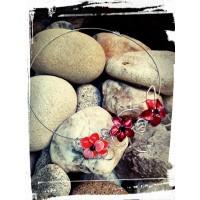 Колие с цветя